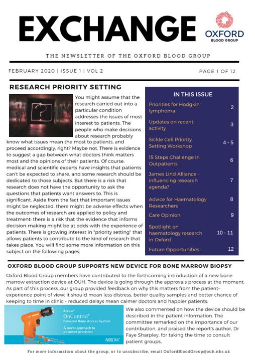 OBG Newsletter Feb 2020